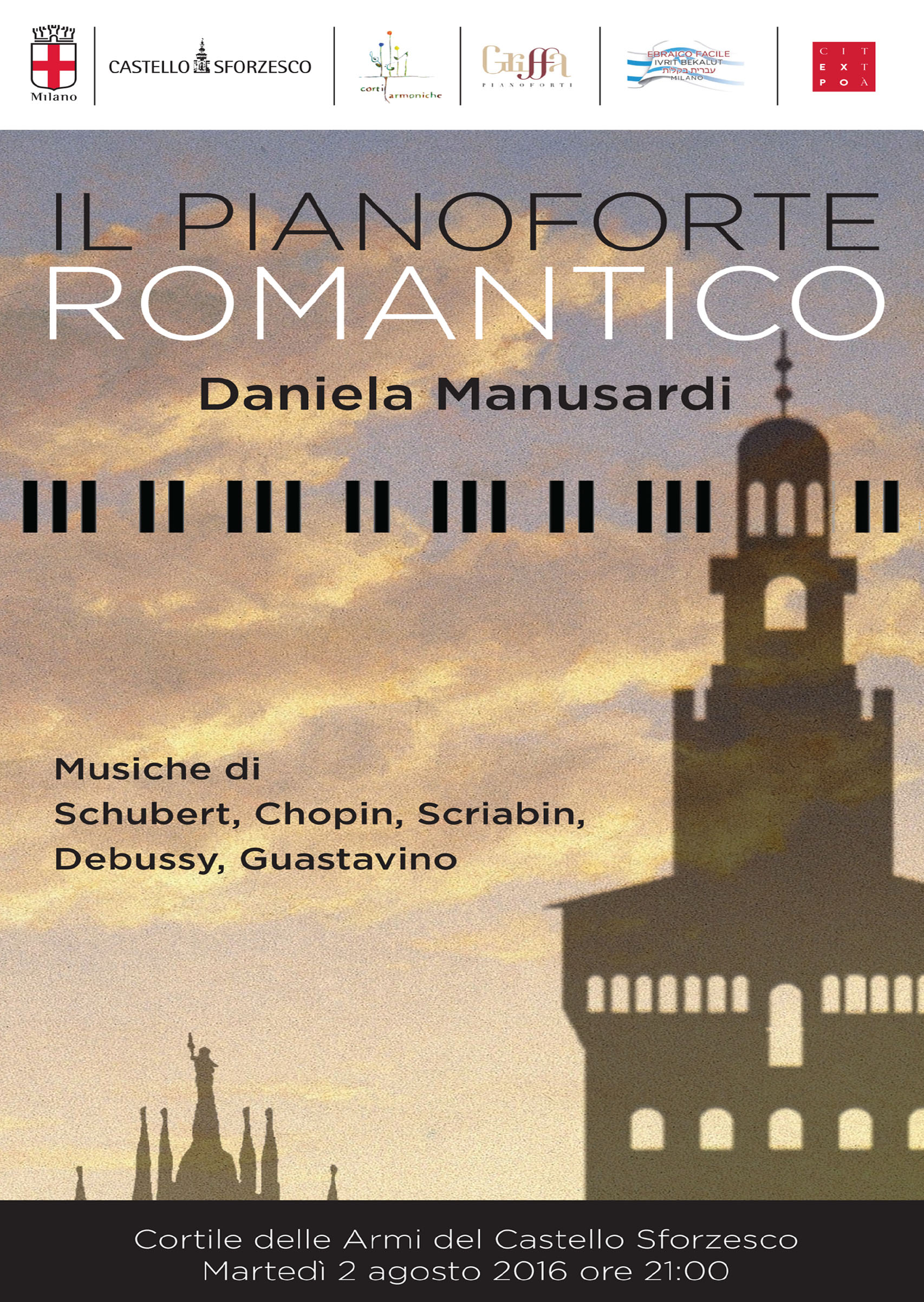 Il pianoforte romantico concerto con Daniela Manusardi