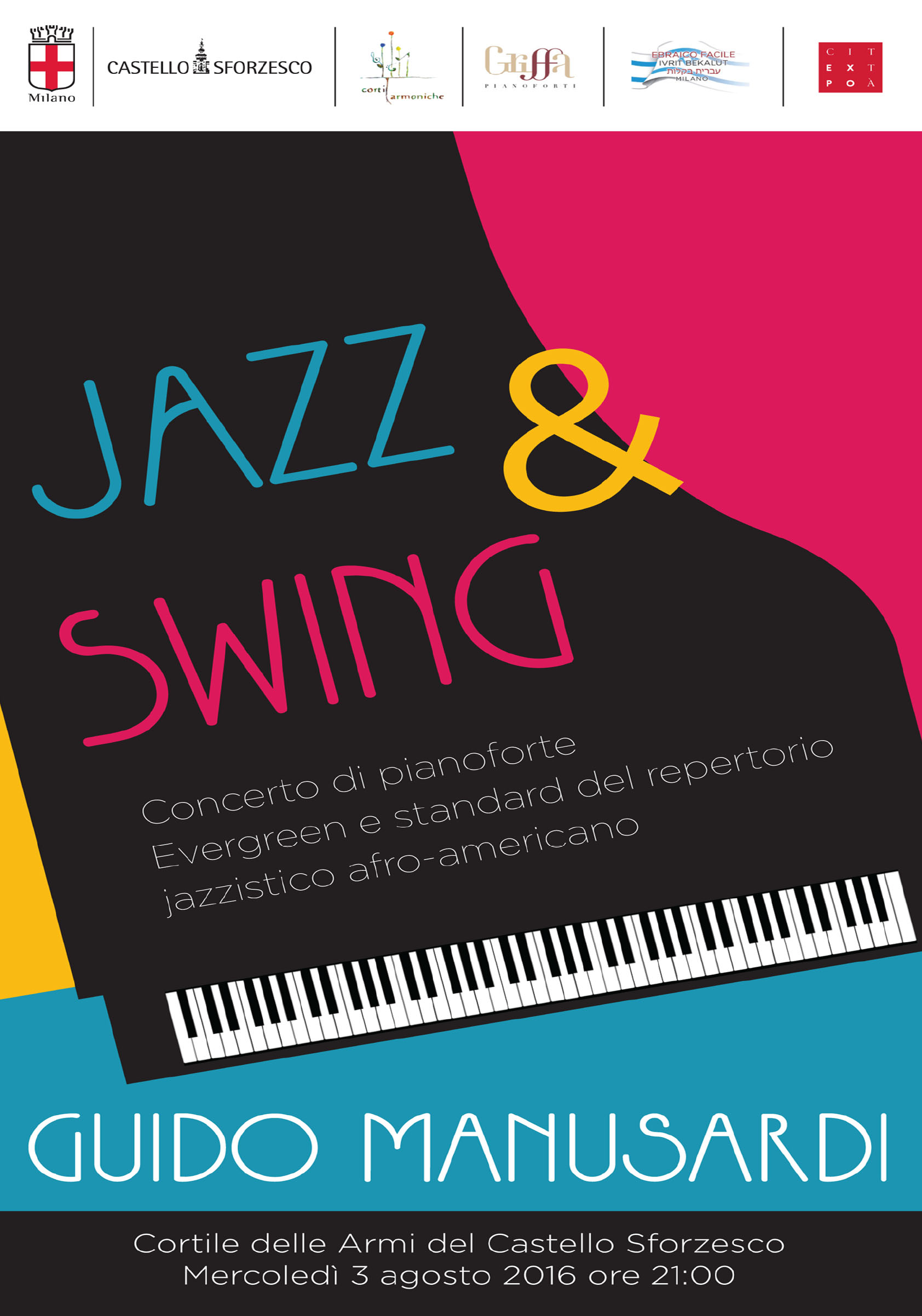 jazz & swing guido manusardi castello sforzesco